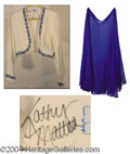 Autographs, Kathy Mattea Owned & Stage Worn Outfit