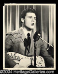 Autographs, Rick Nelson Vintage Signed 8 x 10 Photo