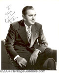 Autographs, Pat O'Brien signed 8x10