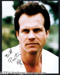 Autographs, Bill Paxton Signed 11 x 14 Photo