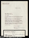 Autographs, Drew Pearson Typed Letter Signed