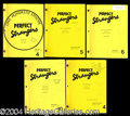 Autographs, Perfect Strangers Lot of 5 Crew Scripts