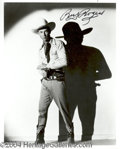 Autographs, Roy Rogers signed 8x10