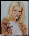 Autographs, Jessica Simpson In-Person Signed Photo