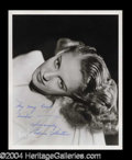 Autographs, Edna Skelton Vintage Signed Photo