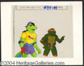 Autographs, Teenage Mutant Ninja Turtles Cel Michelangelo