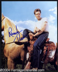 Autographs, Randy Travis In-Person Signed Photo