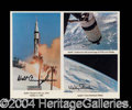Autographs, Apollo 7 Signed Photo Space Astronauts