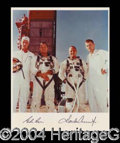 Autographs, Gemini 5 Signed Photo Space Astronauts