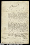 Autographs, George IV Signed Document c.1826