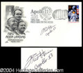 Autographs, Fred Harris Signed Commemorative FDC