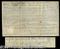 Autographs, Andrew Jackson Signed Document as President