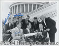 Autographs, Mercury 7 Signed Photo Space Astronauts