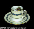 Autographs, Franklin Roosevelt Owned & Used Cup & Saucer