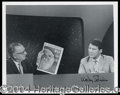 Autographs, Space Astronaut Signed Photo with Cronkite