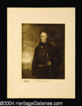 Autographs, Zachary Taylor Original 1901 Engraving