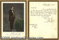 Political:Small Paper (pre-1896), FINE POLITICAL LETTER SIGNED BY TOUGH CANDIDATE LEWIS CASS, DATE...