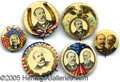 """Political:Pinback Buttons (1896-present), A COLLECTION OF """"BETTER"""" BUTTONS FOR ALTON PARKER, DEFEATED FOR ..."""