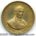 Political:Tokens & Medals, CHOICE EXAMPLE OF THE LARGEST LISTED 1856 BUCHANAN MEDAL (ACTUAL...