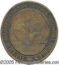 Political:3D & Other Display (1896-present), MOST UNUSUAL LARGE 1920'S-ERA KKK BRONZE PLAQUE. We are at a los...