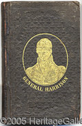 Political:Small Paper (pre-1896), NICE CLOTHBOUND 1840 DATED W.H. HARRISON CAMPAIGN BIOGRAPHY. Att...