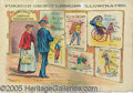 Political:Posters & Broadsides (1896-present), NEAT ANTI-POPULIST 1896 POSTER. This colorful poster depicts the...
