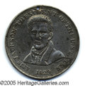 Political:Tokens & Medals, VERY RARE LARGE ANDREW JACKSON CAMPAIGN MEDAL. Listed by Sulliva...