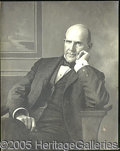 "Political:Posters & Broadsides (1896-present), SUPERB ""ART PHOTO"" OF EUGENE V. DEBS. We are at a bit of a loss ..."