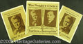 Political:Posters & Broadsides (1896-present), GROUP OF THREE SCARCE 1924 LAFOLLETTE CAMPAIGN POSTERS. Two 10 x...
