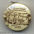 "Political:Advertising, UNUSUAL TRUMAN CELLULOID TAPE MEASURE. This 1½"" item shows ""Pres..."