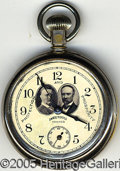 Political:Advertising, RARE AND WONDERFUL 1904 ROOSEVELT AND FAIRBANKS CAMPAIGN POCKET ...