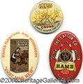 Advertising:Pocket Mirrors & Pinbacks, LOT OF ADVERTISING PRODUCT MIRRORS. This is an excellent collec...