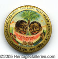 Antiques:Black Americana, INTERSTATE AND WEST INDIAN EXPO 1901 BLACK BOYS WITH WATERMELON....