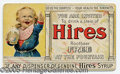 Advertising:Paper Items, RARE EARLY ROOTBEER COUPON GRAPHIC HIRE'S ADVERTISING BOY. We'v...