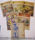 Books:Fiction, GROUP OF BUFFALO BILL STORIES WEEKLY. This group is made up of ...