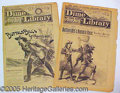 Books:Periodicals, 1893 DIME LIBRARY 2 SCARCE ISSUES WITH BUFFALO BILL. This lot i...