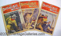 Books:Periodicals, BUFFALO BILL WEEKLY 1916 LOT OF 3 ISSUES. Dated 1916 this lot o...
