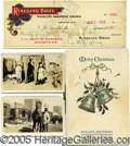 Entertainment Collectibles:Circus, EARLY RINGLING BROS./ BARNUM & BAILEY CIRCUS GROUP. Consisting...