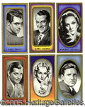 "Miscellaneous:Trading Cards, 1938 CARRERAS TOBACCO ""FILM FAVOURITES"" COMPLETE SET. As the ge..."