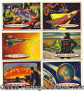 "Miscellaneous:Trading Cards, 1957 TOPPS ""SPACE CARDS"" NEAR SET. In late 1957 to early '58, T..."
