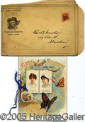 Miscellaneous:Trading Cards, ALLEN & GINTER ALBUMS. The period 1888-1890 witnessed a profusi...