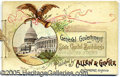 Miscellaneous:Trading Cards, ALLEN & GINTER ALBUM. General government and state capitolbuil...