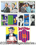 "Miscellaneous:Trading Cards, 1968 TOPPS ""LAUGH-IN"" COLLECTION. At the edge of sanity, and th..."