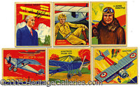 "R136 NATIONAL CHICLE ""SKY BIRDS"" NEAR SET. Released in 1934, this aviation issue gratified a young consumer pu..."