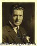 Autographs:Celebrities, VINTAGE GENE TUNNEY SIGNED PHOTO. Exceptional signed photo from...