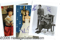 Entertainment Collectibles:Movie, 30 HOLLYWOOD 8 X 10'S. Includes Carole Burnet, Christian Slater...