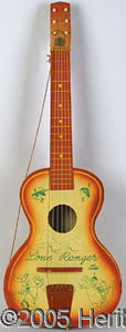 Entertainment Collectibles:Comic Character, NICE LONE RANGER AND TONTO GUITAR. This piece is in exceptional...