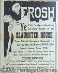 """Antiques:Posters & Prints, 1919 COLLEGE """"HAZING"""" POSTER. A real """"period piece!"""" This 19"""" b..."""