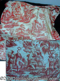 Political:Textile Display (pre-1896), GEORGE WASHINGTON COMMEMORATIVE TEXTILE FROM 1783.. This piece ...