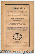 Books:Pamphlets & Tracts, GUIDE FOR THE CALIFORNIA GOLD FIELDS.. This 34-page imprint was...